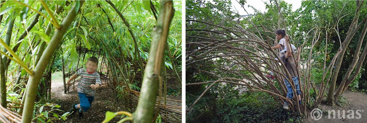 nuas NaturSpielRäume: Gebüsche als Spielräume