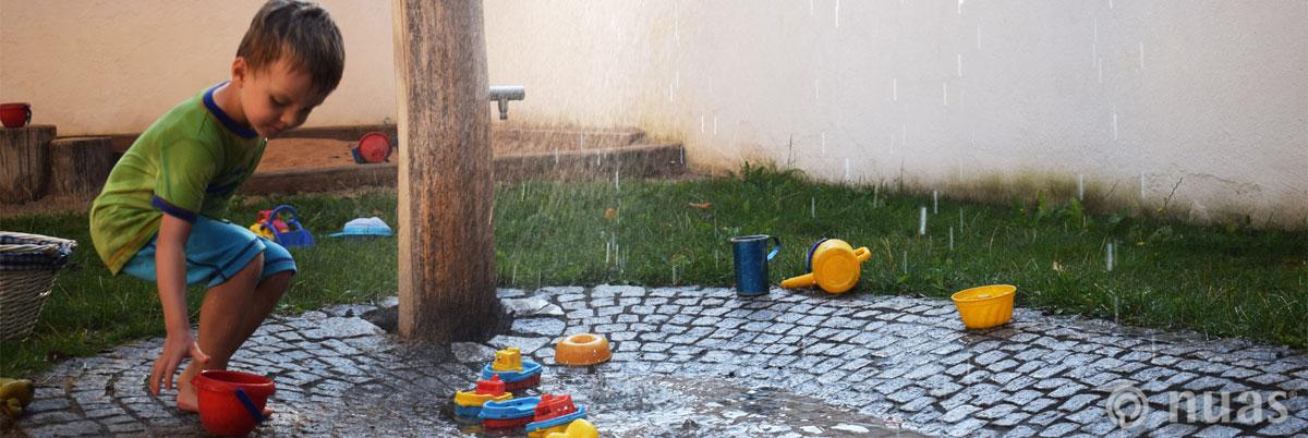 nuas NaturSpielRäume: Element Wasser