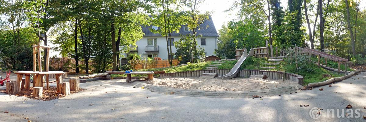 nuas NaturSpielRäume: nuas Spielhügel erosionsarm sicher und spannend