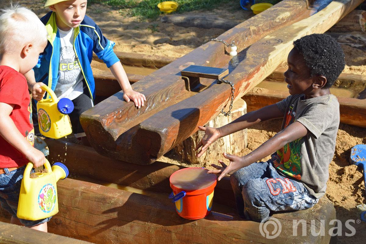nuas Wasserspiellandschaft: ich habs geschafft