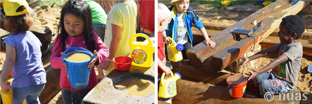 nuas NaturSpielRäume: vom Wasser haben wir s gelernt