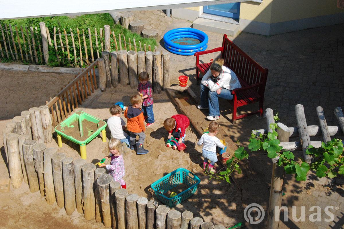 nuas Spiellandschaft U3 Spielgelände