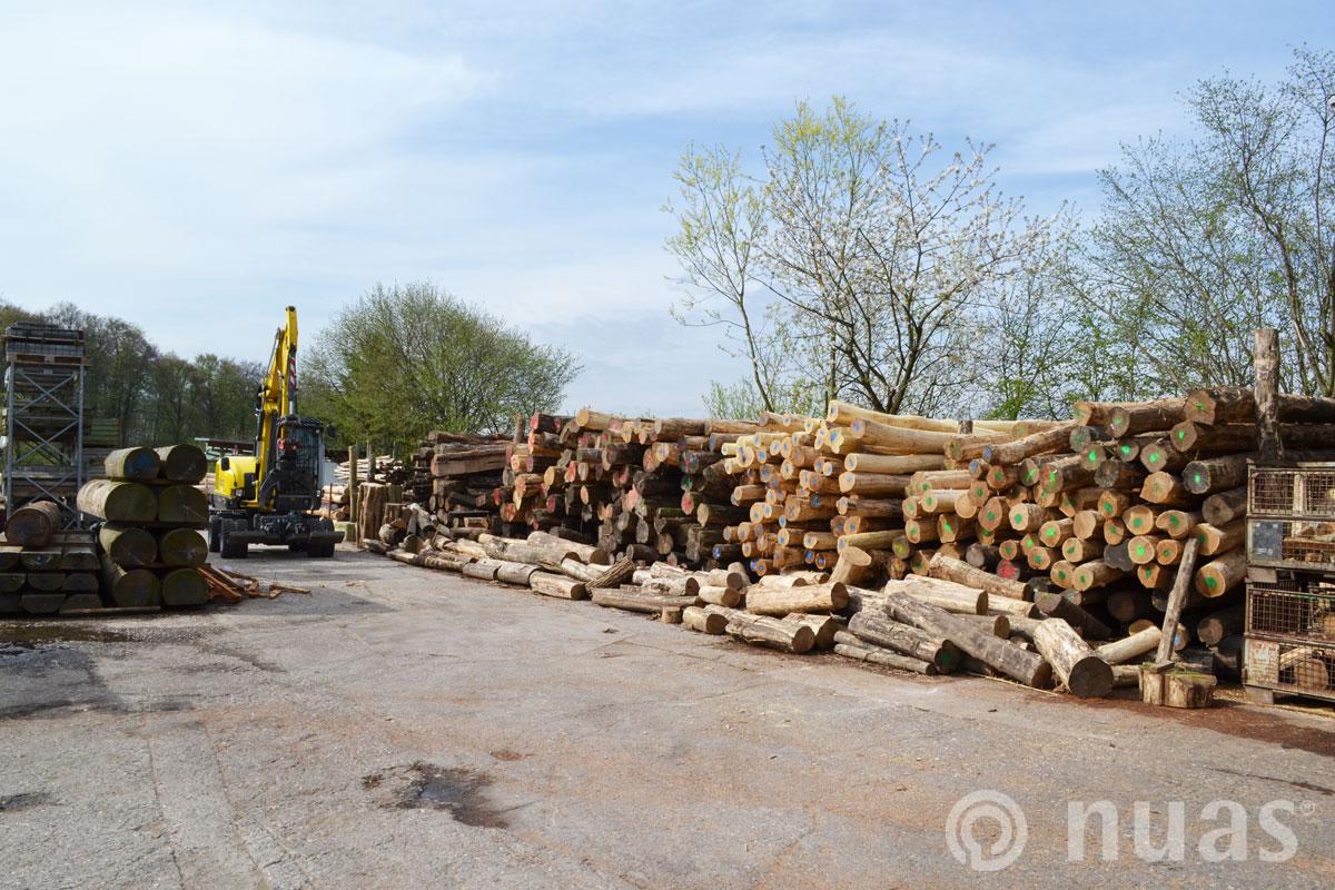 nuas Stammholzlager in Combüchen